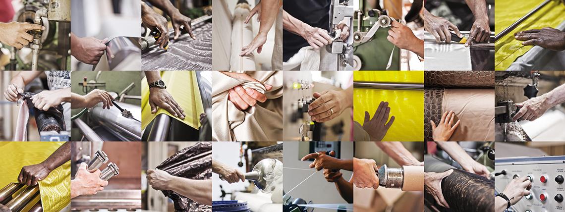L'équipe - Benaud | Fabrication de tissus et moires à Lyon